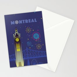 Montreal - Clock Tower Stationery Cards