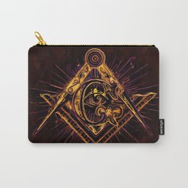 Masonic Symbolism Carry-All Pouch