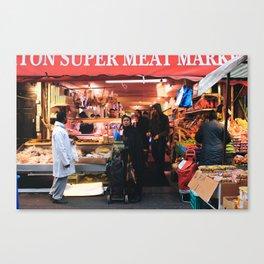 Brixton market Canvas Print