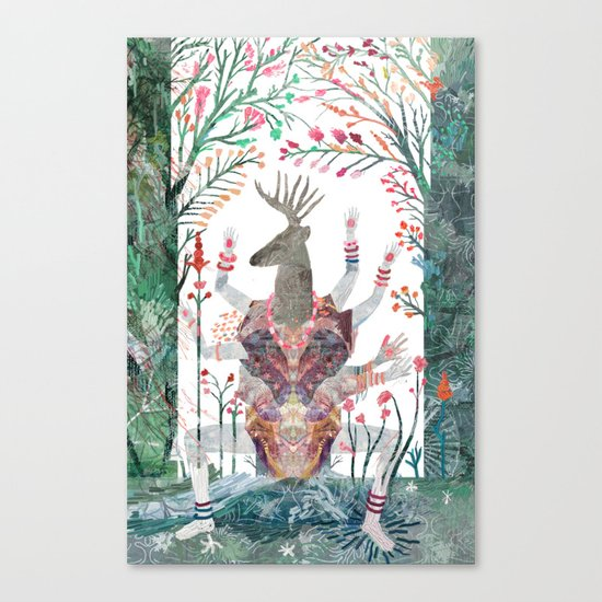 Forest God Canvas Print