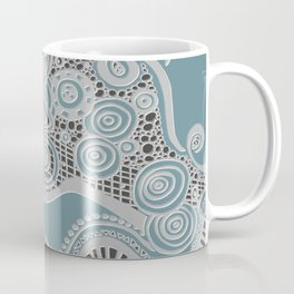 Just a Squiggle Here and There Coffee Mug