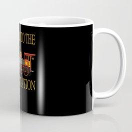 Railway Locomotive Model Railway Train Coffee Mug