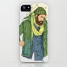 Jesus from New York iPhone Case