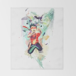Pursuit of Happiness (Blindfolded) Throw Blanket
