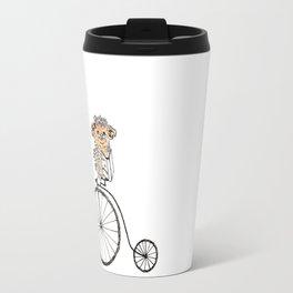 Farthing bike hedgehog Travel Mug