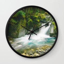 Wonderland Trail Wall Clock