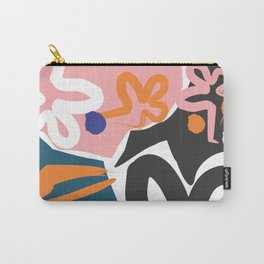 Nature #Pink #Black Carry-All Pouch