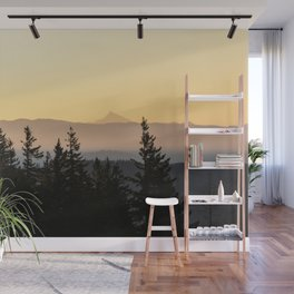 Forest Sunset II - Nature Photography Wall Mural
