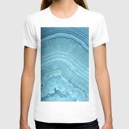 Blue Agate Crystal T-shirt