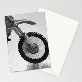 Motocross Dirt-Bike Racer Stationery Cards