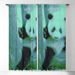 Panda Bear Blackout Curtain