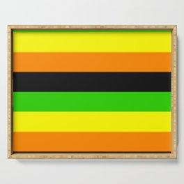 Aromantic Pride Flag v2 Serving Tray