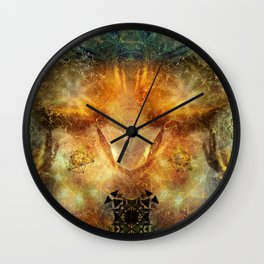 Spirit Guides Wall Clock