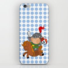 little knight with his horse iPhone & iPod Skin
