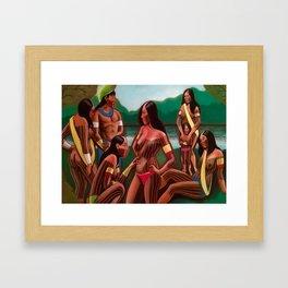 Kayapos Framed Art Print