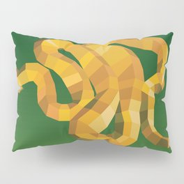 Geometric Viper Pillow Sham