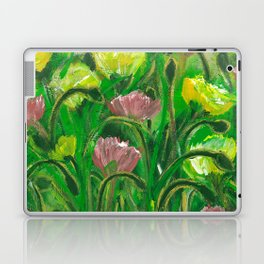 Poppies in the field Laptop & iPad Skin
