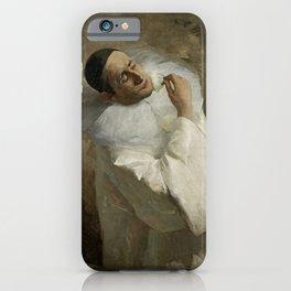 """Pierrot Backstage"" by Floris Arntzenius iPhone Case"