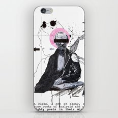 Mighty Poets in Their Misery Dead iPhone & iPod Skin