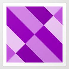 Purple Gradient Art Print