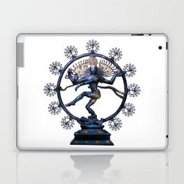 Shiva Nataraj, Lord of Dance (an actual factual fractal) Laptop & iPad Skin