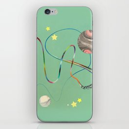Human Struggle iPhone Skin