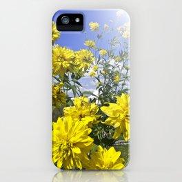 POWER FLOWER iPhone Case