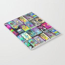 Tarot Major Arcana Notebook