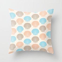 Pastel Marine Pattern 06 Throw Pillow