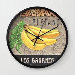 Tropical Palms 3 Wall Clock