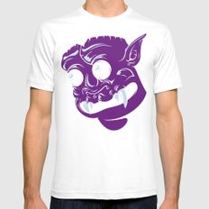 Guardian of the First Dimension White SMALL Mens Fitted Tee