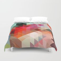 Heavy Words - City 02. Duvet Cover