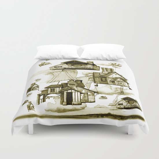 houseII Duvet Cover