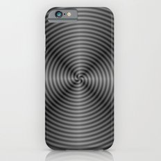 Spiral Quartered in Monochrome iPhone 6s Slim Case