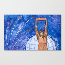 Explore Music Canvas Print