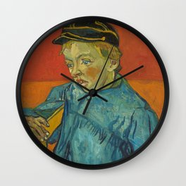 The Schoolboy (Camille Roulin) Wall Clock