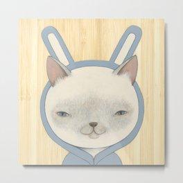 Bunny Suit II Metal Print
