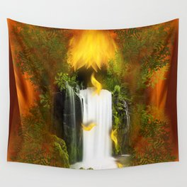 The flower of joy Wall Tapestry
