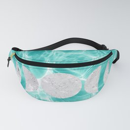 Pool Dream Moon Phases #1 #water #decor #art #society6 Fanny Pack