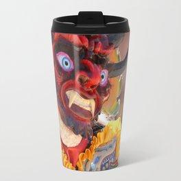 Oruro mask 1 Travel Mug