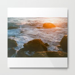 cape sunset Metal Print