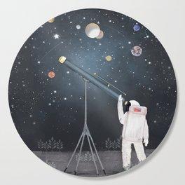 Astronaut Astrology Cutting Board