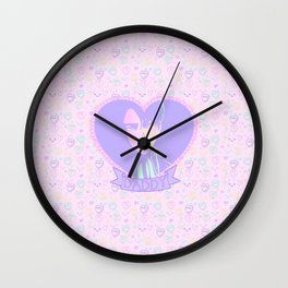 Captain Daddy Wall Clock