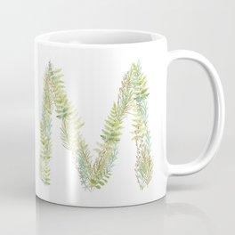 Initial M Coffee Mug