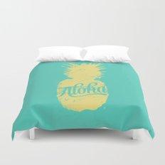 ALOHA - Pineapple print Duvet Cover