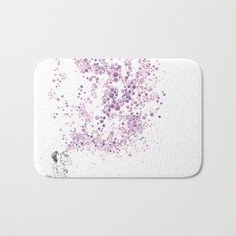 Purple Wind Bath Mat