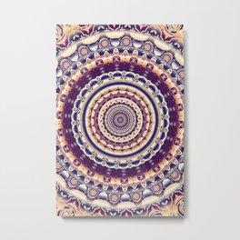 Abstractions in colors (Mandala) Metal Print