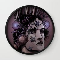 gamer Wall Clocks featuring Gamer  by Art is Vast
