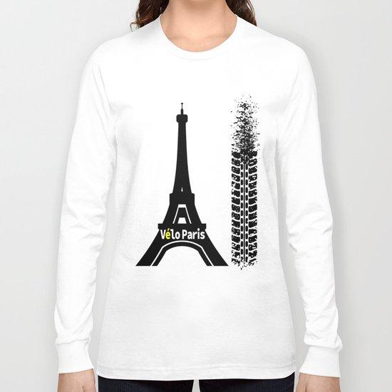 Velo Paris Long Sleeve T-shirt
