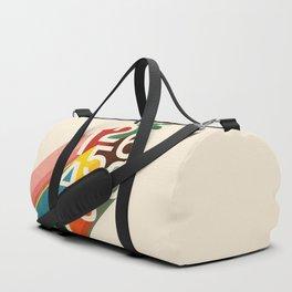 Retro Numbers Duffle Bag